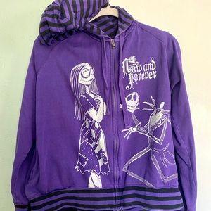 Disney Purple Nightmare Before Christmas Jacket
